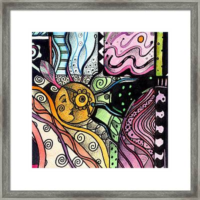 Nature Always Delivers Framed Print by Helena Tiainen