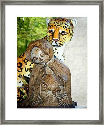 Nature And Progress Framed Print by Bruce Iorio