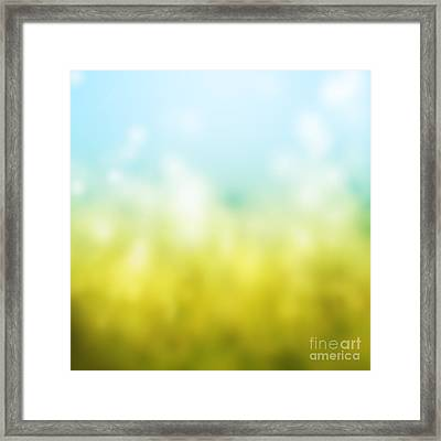 Nature Framed Print by Atiketta Sangasaeng