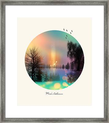Nature By The Tree  Framed Print