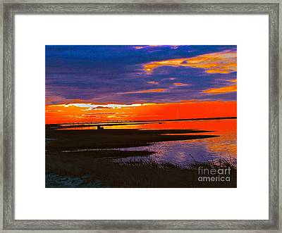 Nature Ends And Begins Framed Print by Q's House of Art ArtandFinePhotography