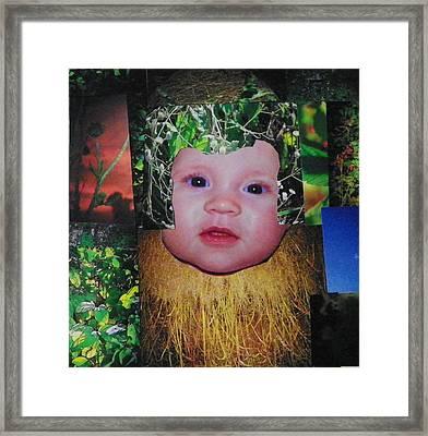 Nature Girl I Framed Print