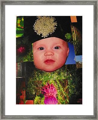 Nature Girl II Framed Print