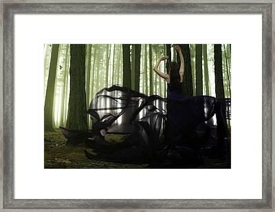 Nature Goddess Framed Print by Fern Evans