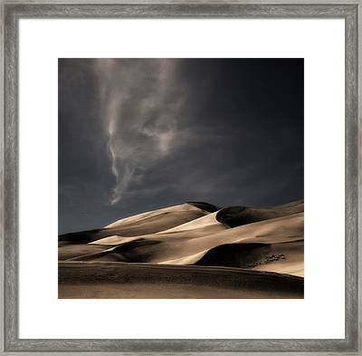 Nature Heals And Cheers ... Framed Print by Yvette Depaepe