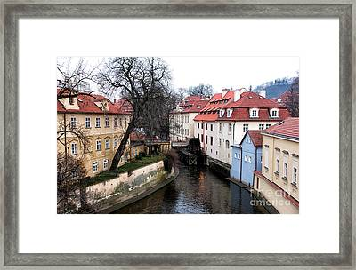 Nature In Prague Framed Print by John Rizzuto