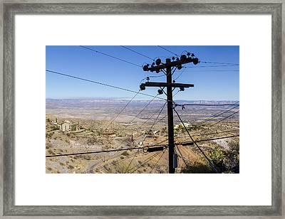 Nature Interrupted Framed Print