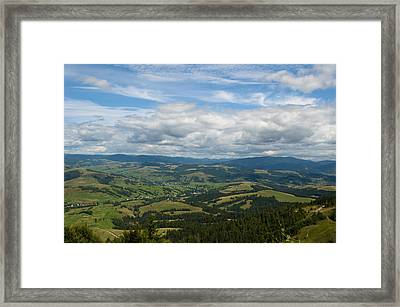 Nature Framed Print by Iryna Soltyska