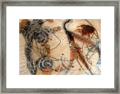 Framed Print featuring the painting Nature Itself by Alexandra Jordankova