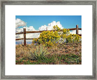 Nature Framed Print by Michelle Frizzell-Thompson