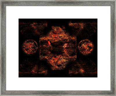 Nature Of The Beast Framed Print
