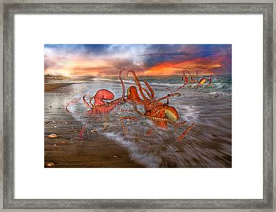 Nature Of The Game Framed Print by Betsy Knapp