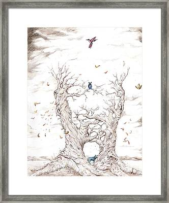 Nature Of The Self Framed Print