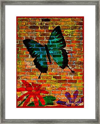 Nature On The Wall Framed Print by Leanne Seymour