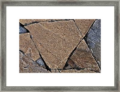 Nature Patterns Series - 69 Framed Print by Heiko Koehrer-Wagner