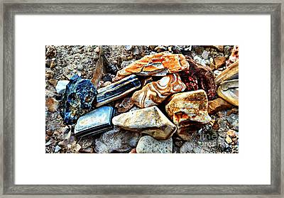 Nature Rocks Framed Print