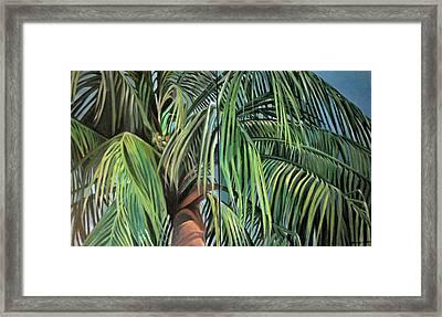 Nature Study 2 Framed Print by Julie Orsini Shakher
