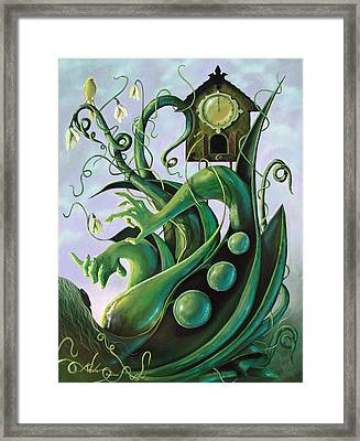 Nature Takes Its Course Framed Print by Kevin Escobar