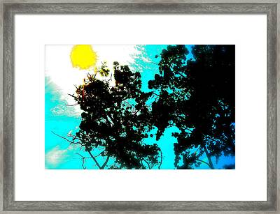 Nature Too Framed Print