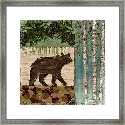 Nature Trail II Framed Print by Paul Brent