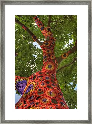 Framed Print featuring the photograph Nature Unframed by Ed Cilley