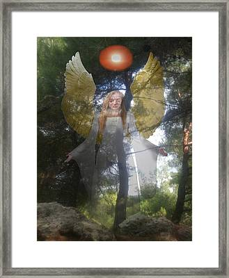 Nature's Angel Framed Print by Eric Kempson