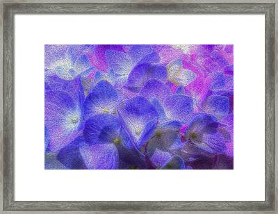 Framed Print featuring the photograph Nature's Art by Paul Wear