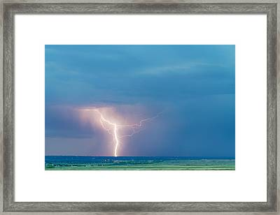 Natures Avenging Spirit  Framed Print