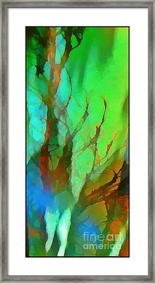 Natures Beauty Abstract Framed Print by John Malone