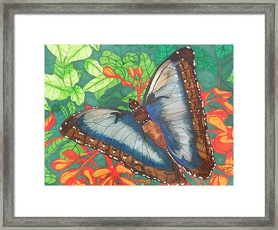 Natures Beauty Framed Print by Willie McNeal