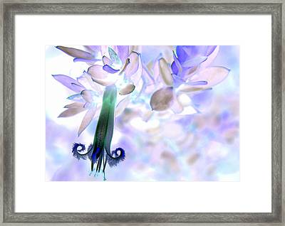 Framed Print featuring the photograph Nature's Bell by Miroslava Jurcik
