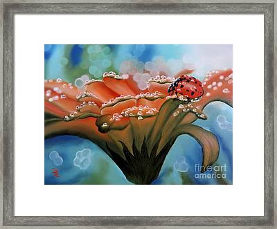 Natures Blessings Framed Print