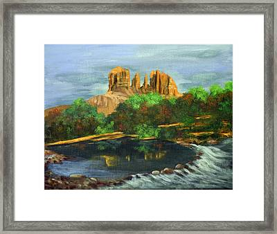 Nature's Cathedral Framed Print