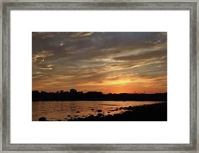 Nature's Created Colors Framed Print by Karol Livote
