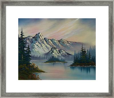 Nature's Elegance Framed Print by C Steele