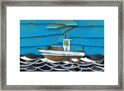 Framed Print featuring the photograph Natures Elements Art-2 by Nina Bradica