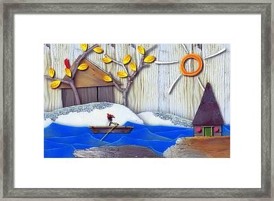 Natures Elements Art-4 Framed Print