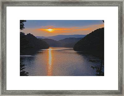 Natures Eyes Framed Print