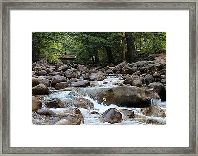 Framed Print featuring the photograph Nature's Flow  by Christy Pooschke