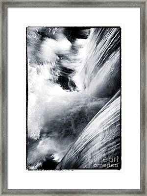 Natures Force Framed Print by John Rizzuto