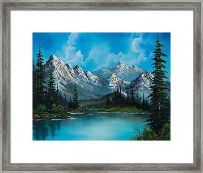 Nature's Grandeur Framed Print by C Steele