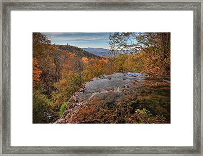 Nature's Infinity Pool Framed Print
