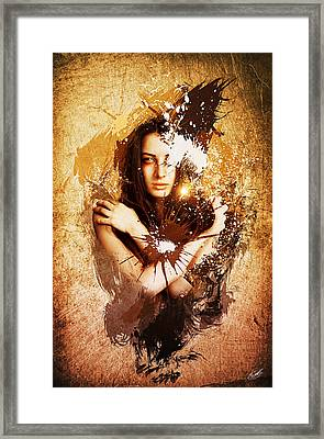 Natures Law Framed Print by Aj Collyer