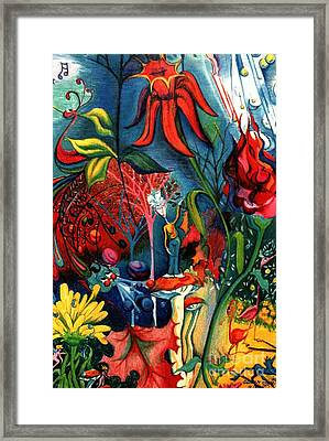 Natures Overature Framed Print by Genevieve Esson