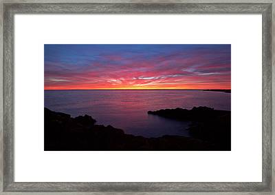 Natures Paintbox Framed Print