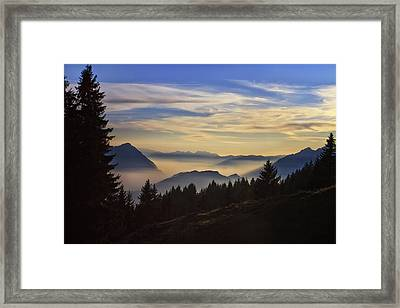 Natures Palette Framed Print by Kim Andelkovic