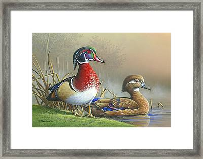 Framed Print featuring the painting Nature's Palette by Mike Brown