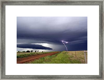 Natures Power Framed Print