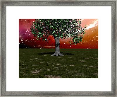 Nature's Salute Framed Print