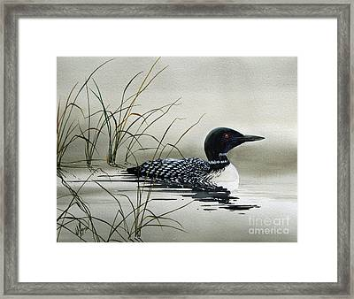 Nature's Serenity Framed Print by James Williamson